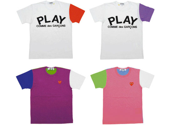 T shirt for Commes des garcons play shirt