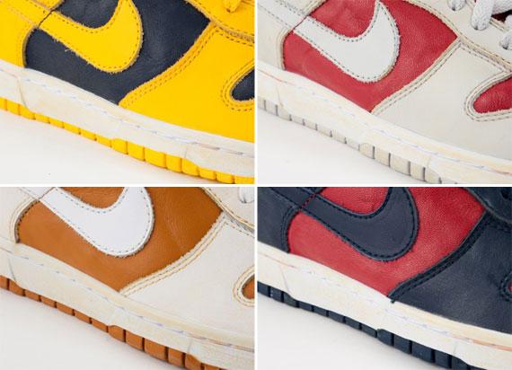 "best service edb2e 4fe55 Nike Dunk Low ""Vintage Pack"""