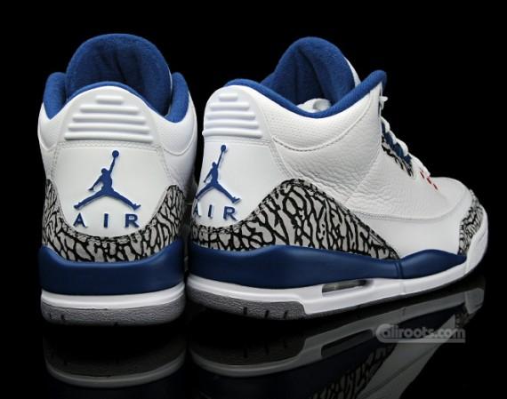 48305b15fdac The reason basically nobody is remarking on why the Air Jordan III Retro  True  Blue  ...